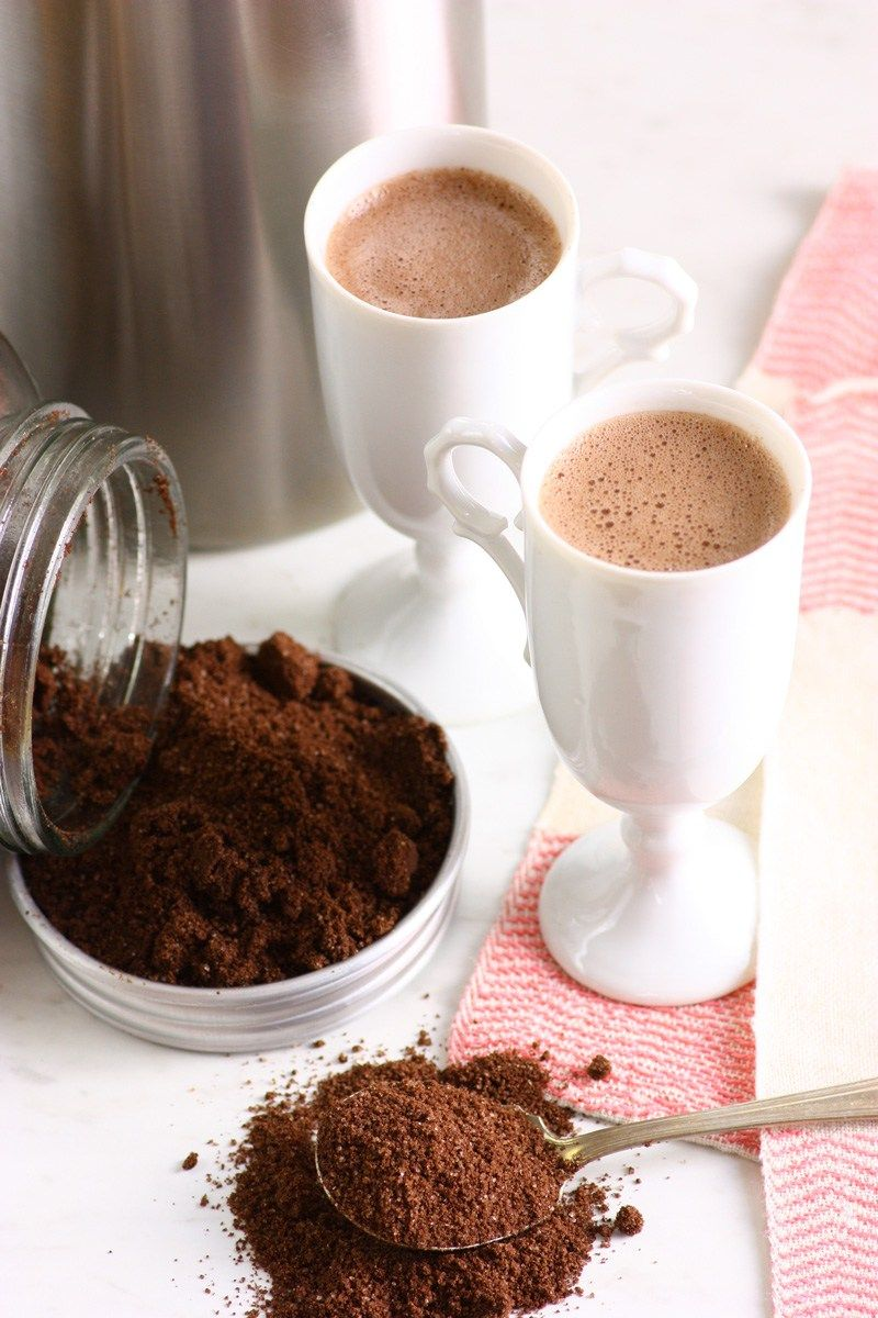 Dairy free instant hot chocolate mix flo and grace