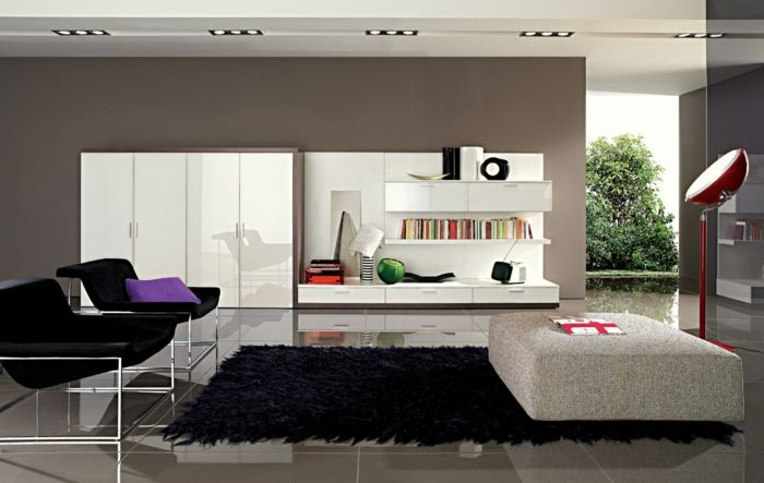 farbgestaltung wohnzimmer wandgestaltung wanddesign grau - wohnzimmer braun grau