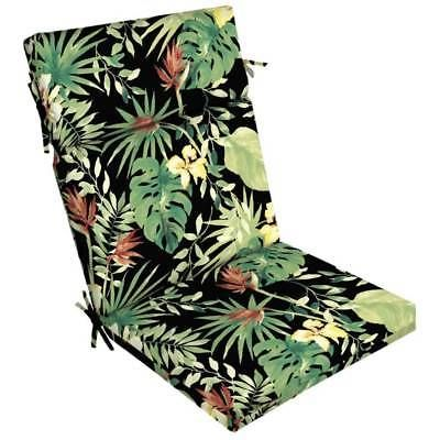 Aruba Palm Outdoor One Piece Dining Chair Cushion In Hand To Ship