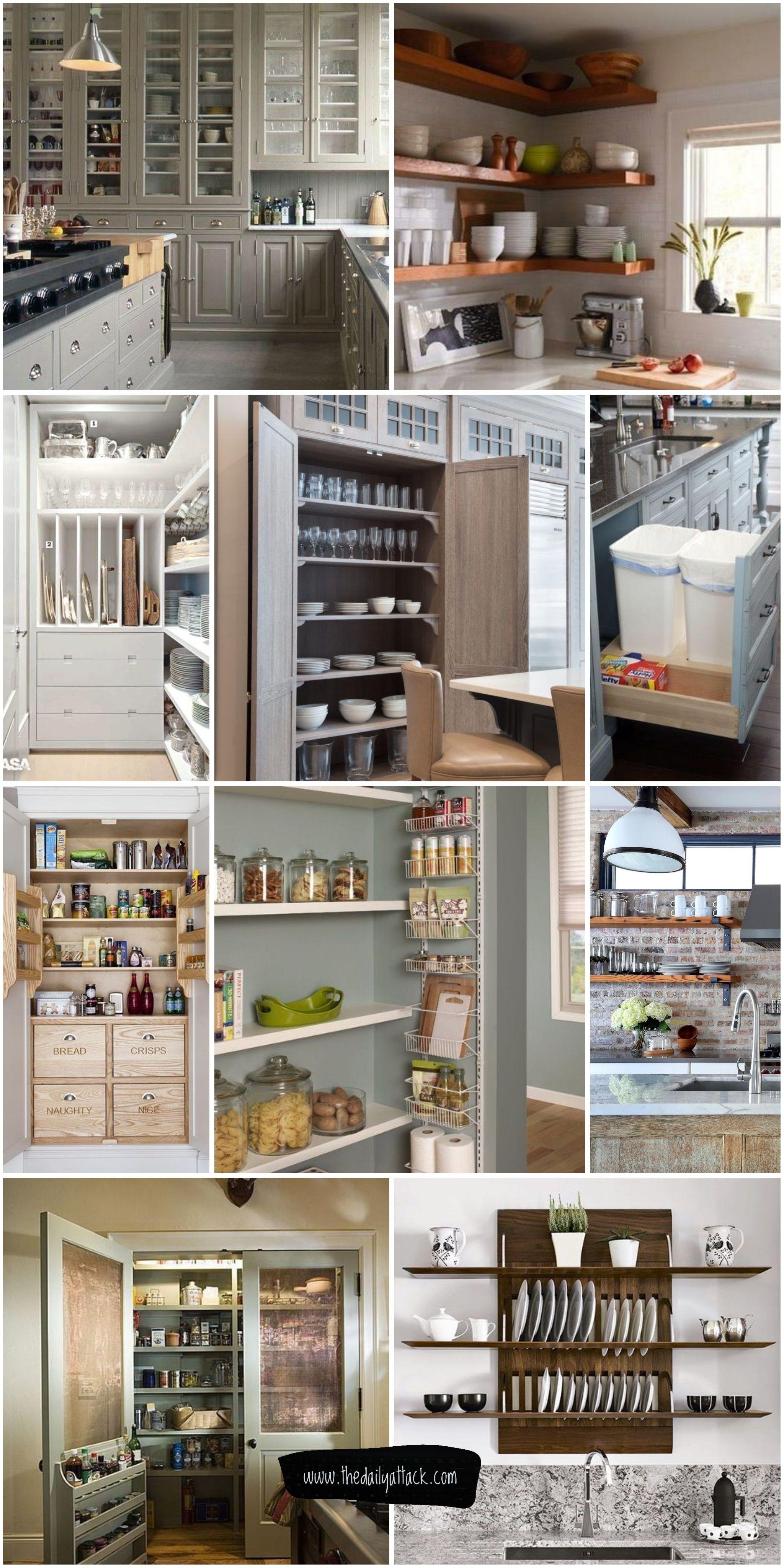 61 Unique Kitchen Storage Ideas Easy Storage Solutions For Your Kitchen Kitchen Remodel Small Apartment Pantry Trendy Kitchen