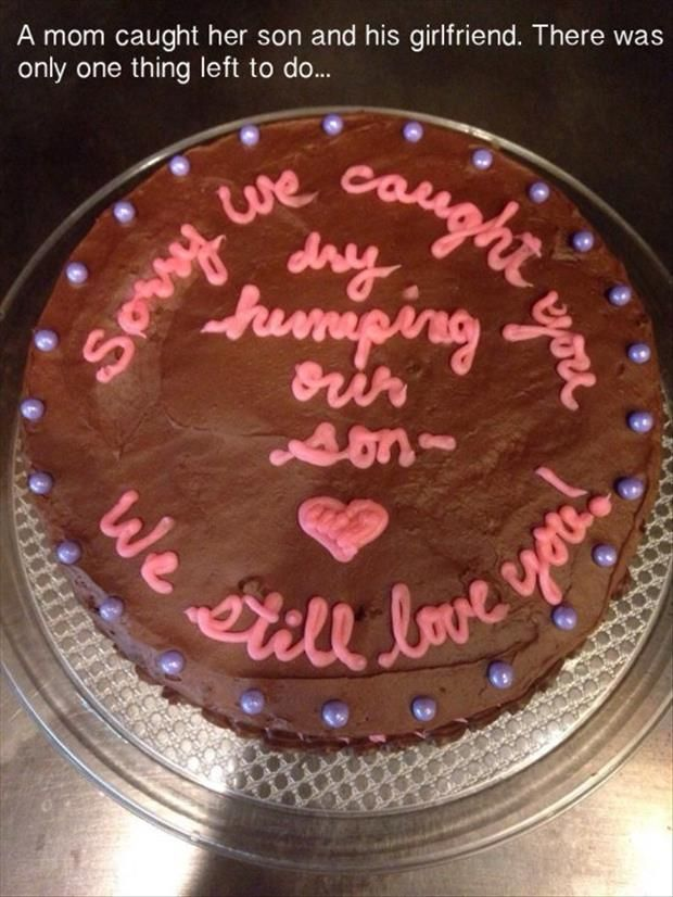 I Bet The Bakery Hasnt Seen Many Requests To Write Sorry We Caught