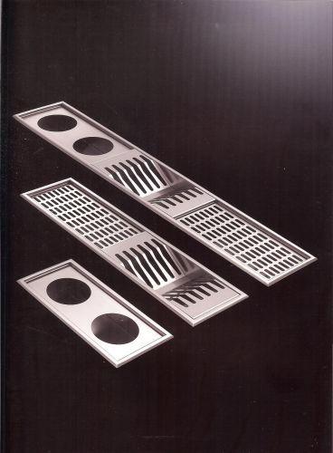 Capra Florio Canalizzazione attrezzata in acciaio Inox da incasso ...