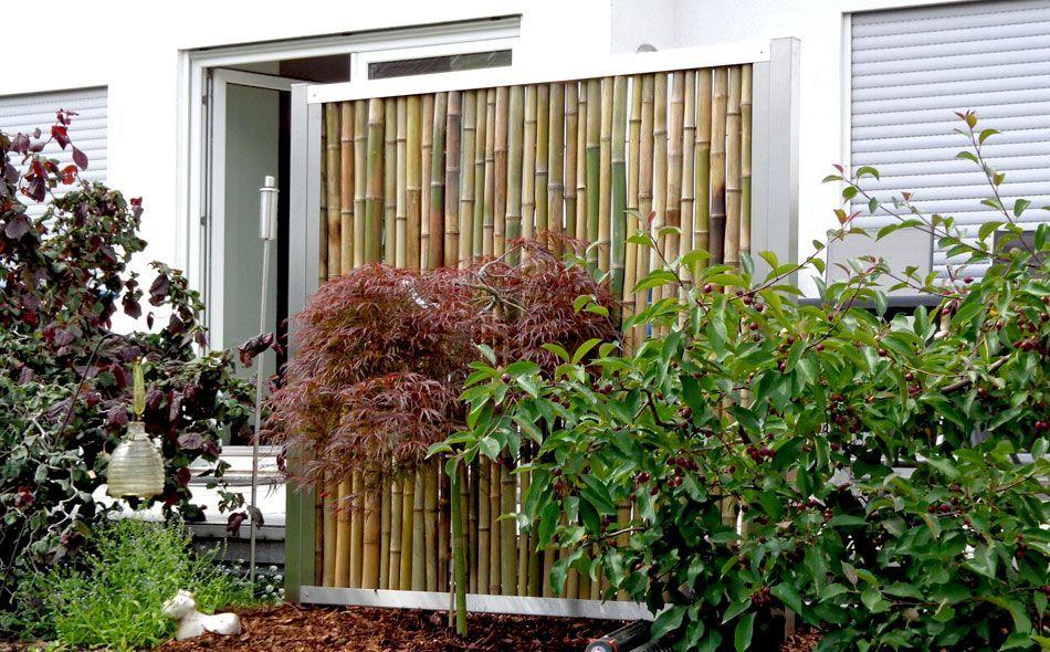 Bambuszaun und Sichtschutz von Bambusbasis #bambussichtschutz Bambuszaun und Sichtschutz von Bambusbasis #bambussichtschutz