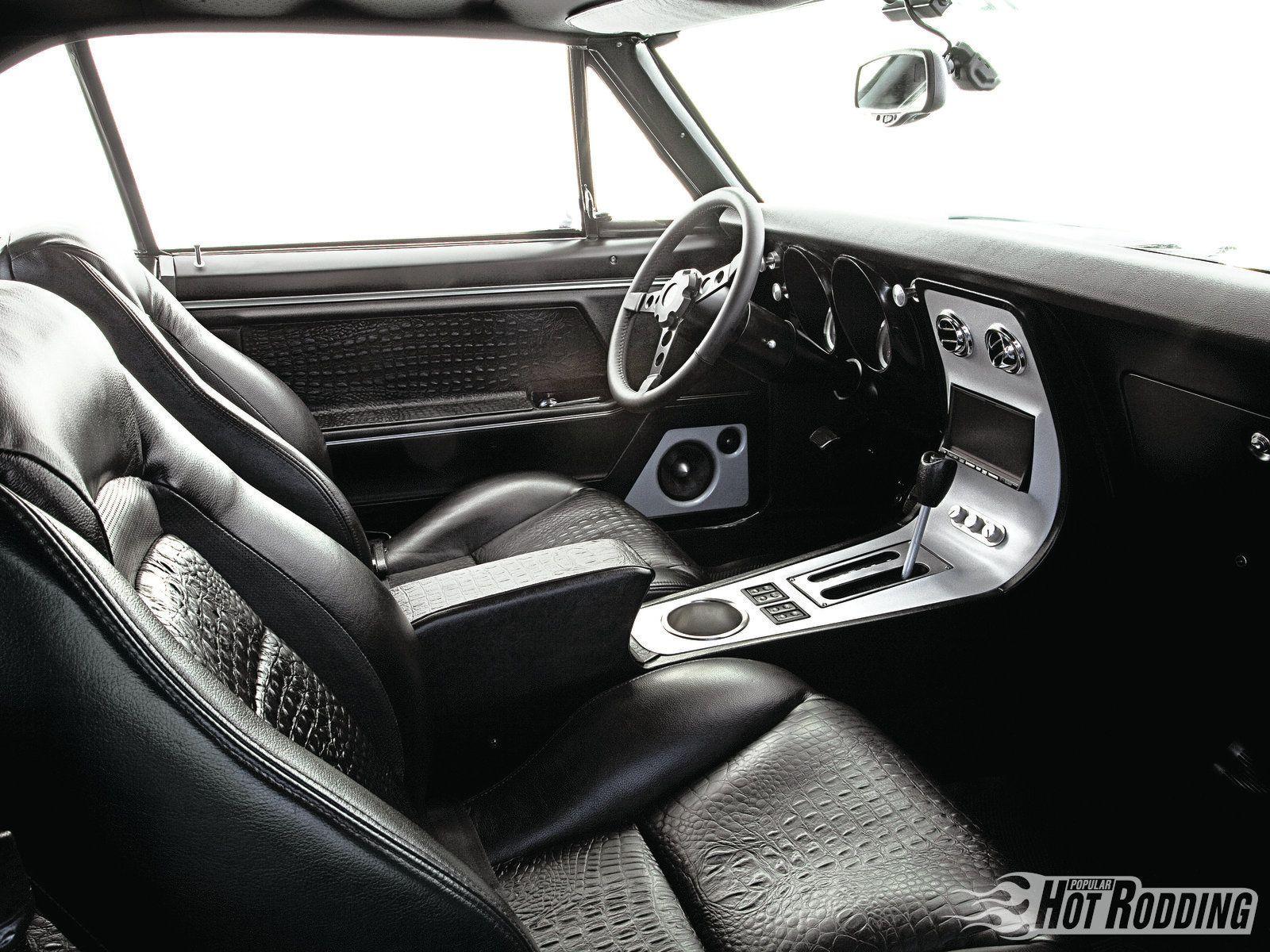 1967 Pontiac Firebird Black Leather Interior Photo 3 Pontiac Firebird Hot Rods Cars Muscle Pontiac