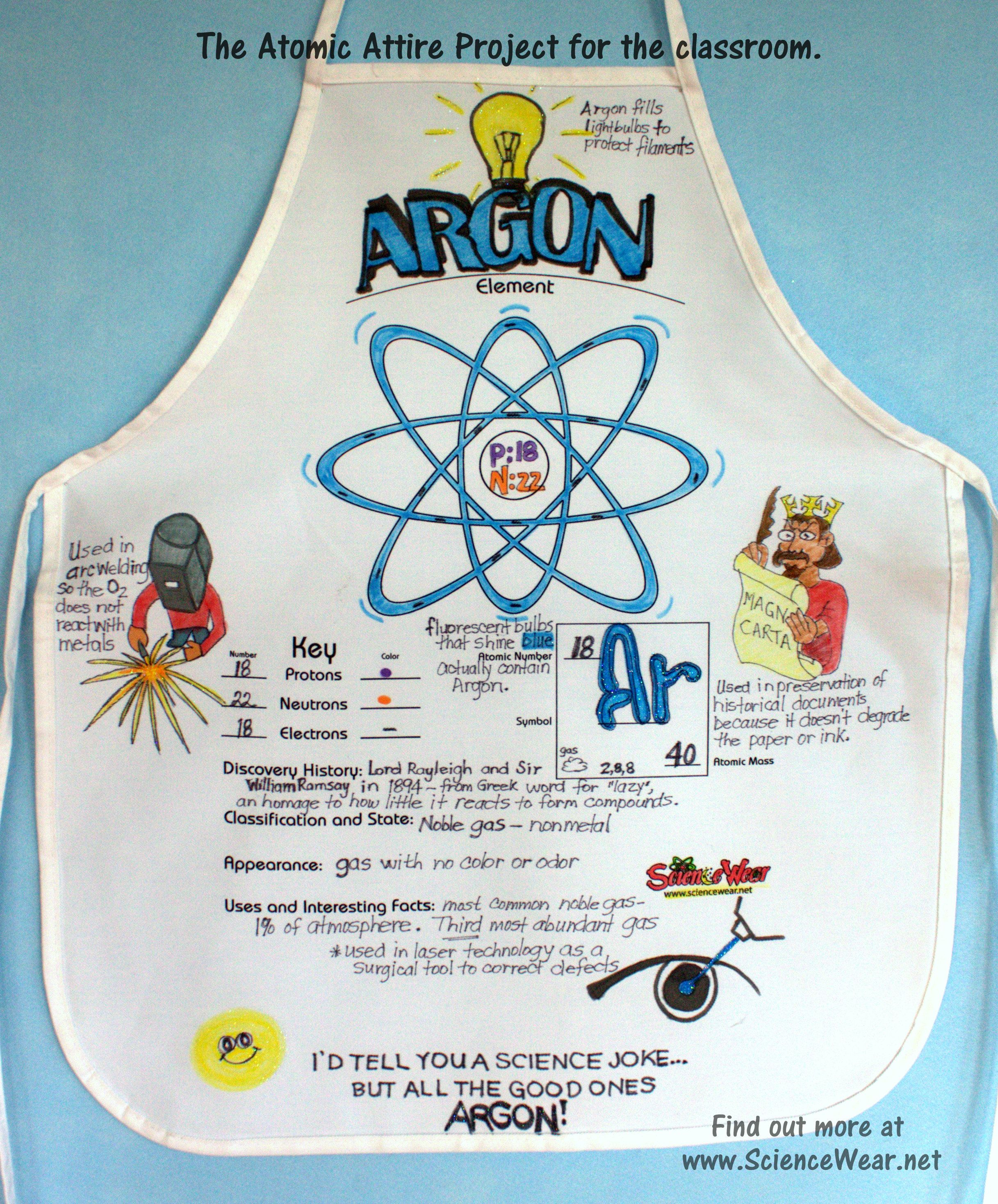 Element project argon fun science is memorable science http element project argon fun science is memorable science httpsciencewear urtaz Images