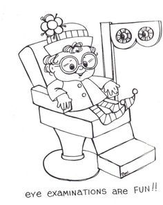 Free Eye Care Coloring Sheets Eye Care Coloring Pages Eyes Game