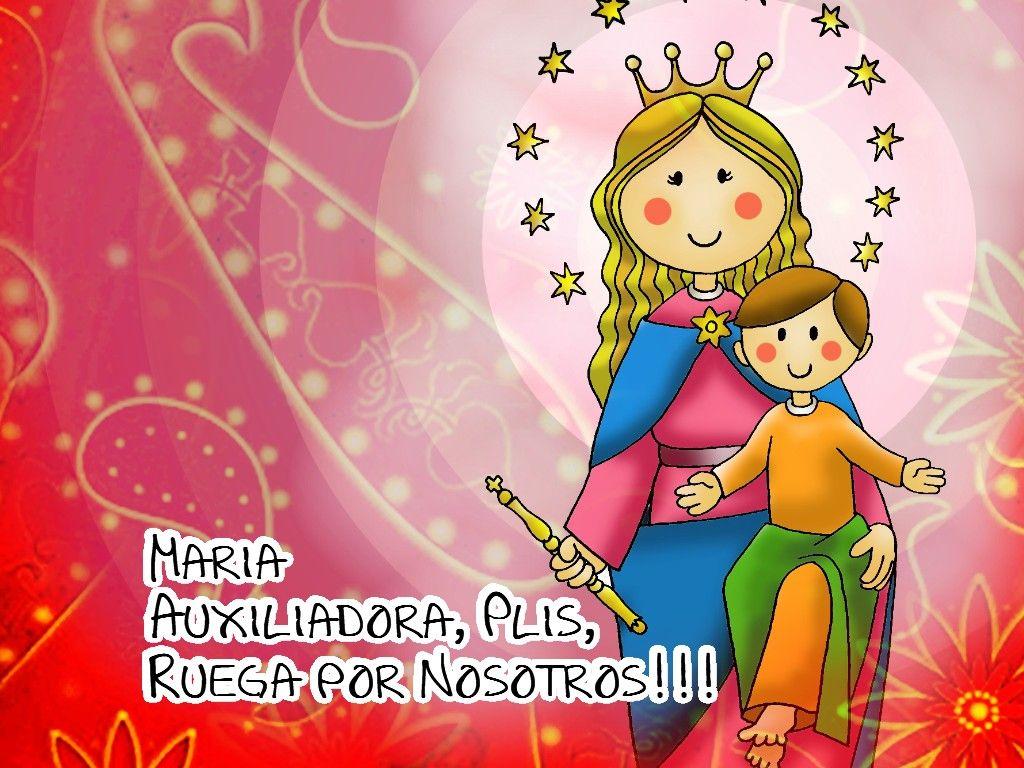 El amor de la Virgen Auxiliadora