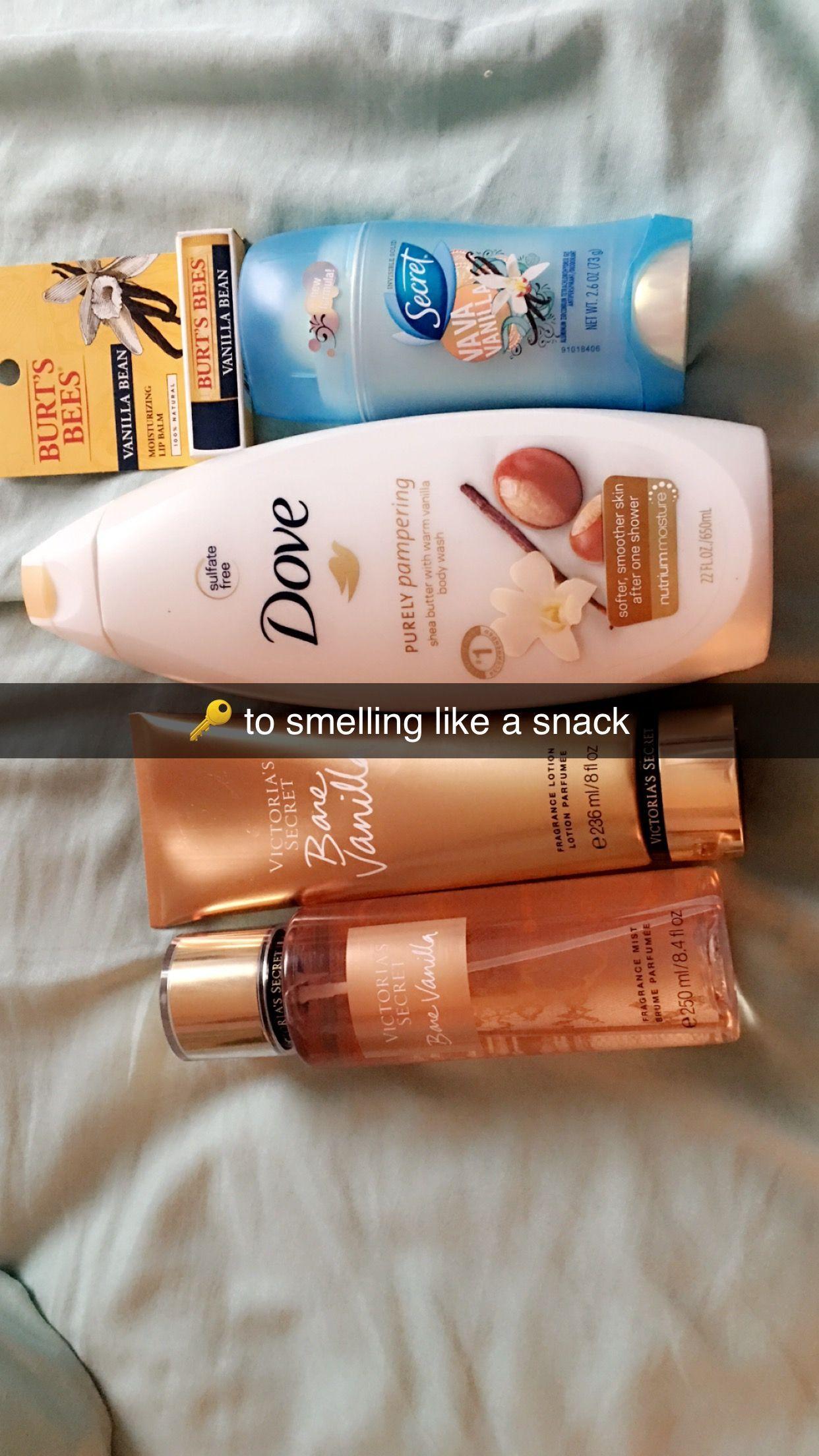 Smelling like Vanilla