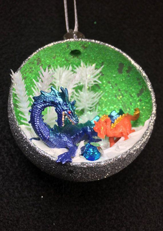 Dragons Christmas Ornament