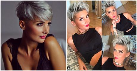 Freche Kurzhaarfrisuren 2018 Frauen Haare Pinterest Hair