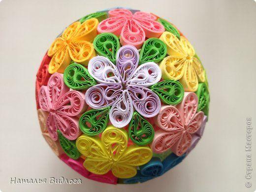 Квиллинг - Пасхальный шарик