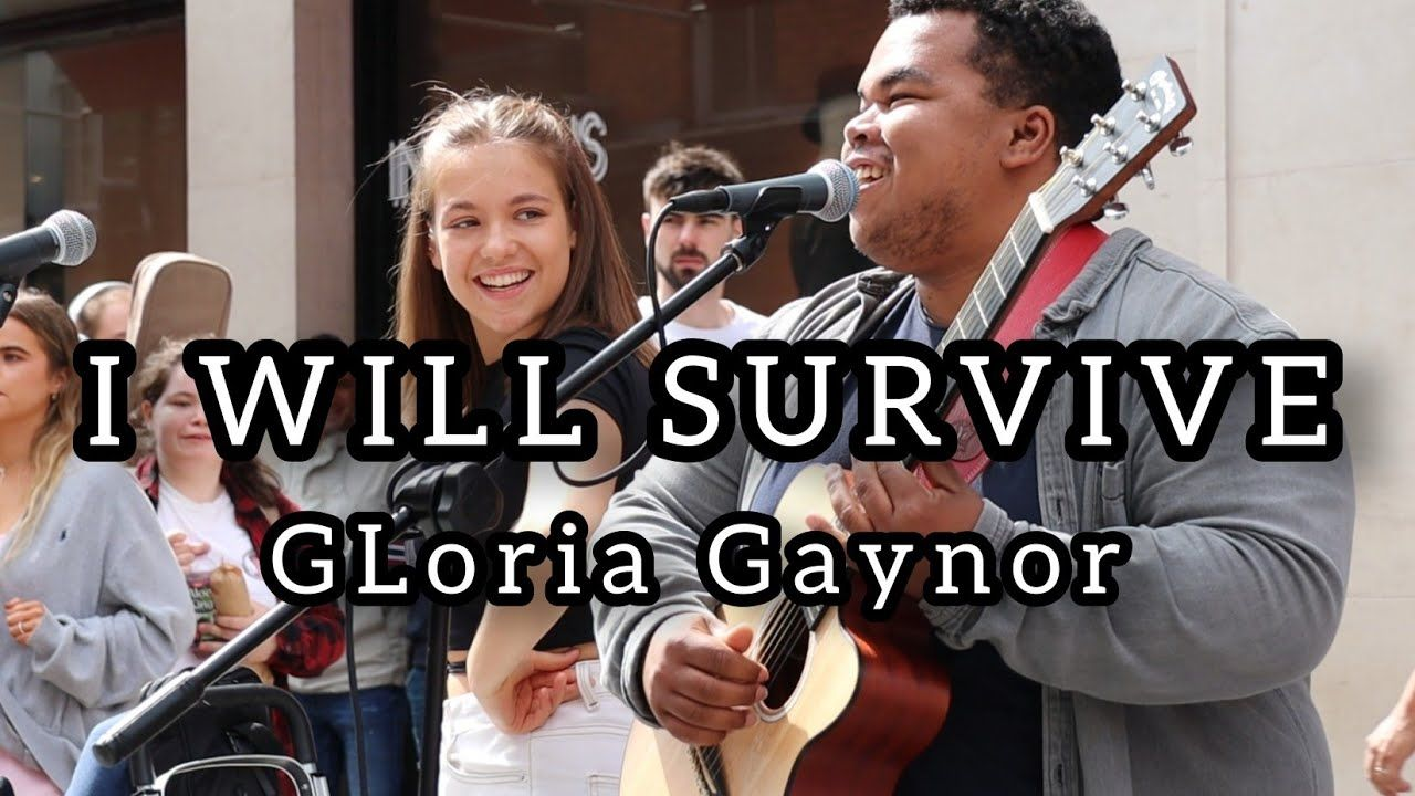 Wow How To Attract A Crowd In 5 Seconds I Will Survive Gloria Gaynor Allie Sherlock Friends Youtube My Favorite Music Music Songs Friends Youtube