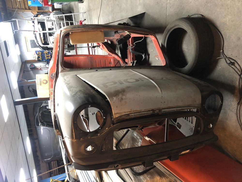 eBay ROVER MINI THIRTY AUTO UNFINISHED PROJECT Classic