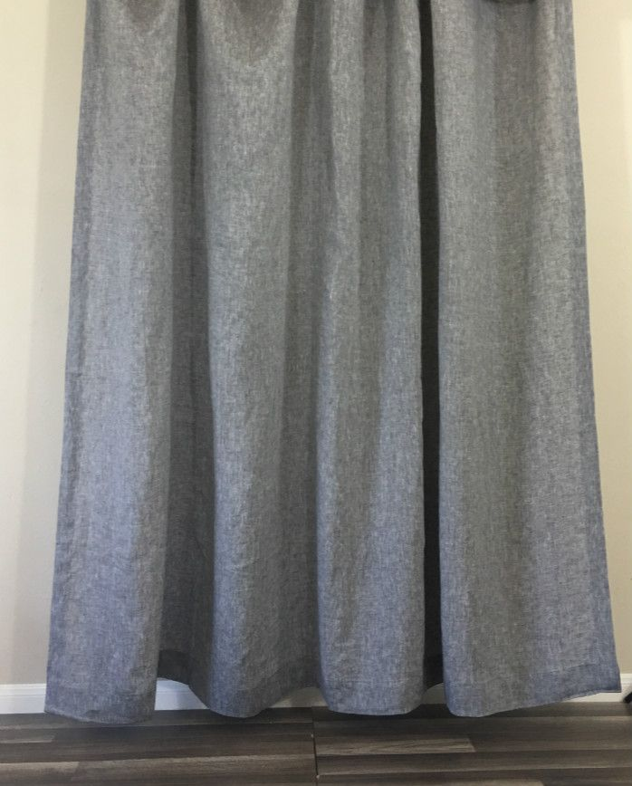 Chambray Grey Linen Shower Curtain Best Of Superior Custom Linens Curtains Linen Curtains Ruffle Shower Curtains