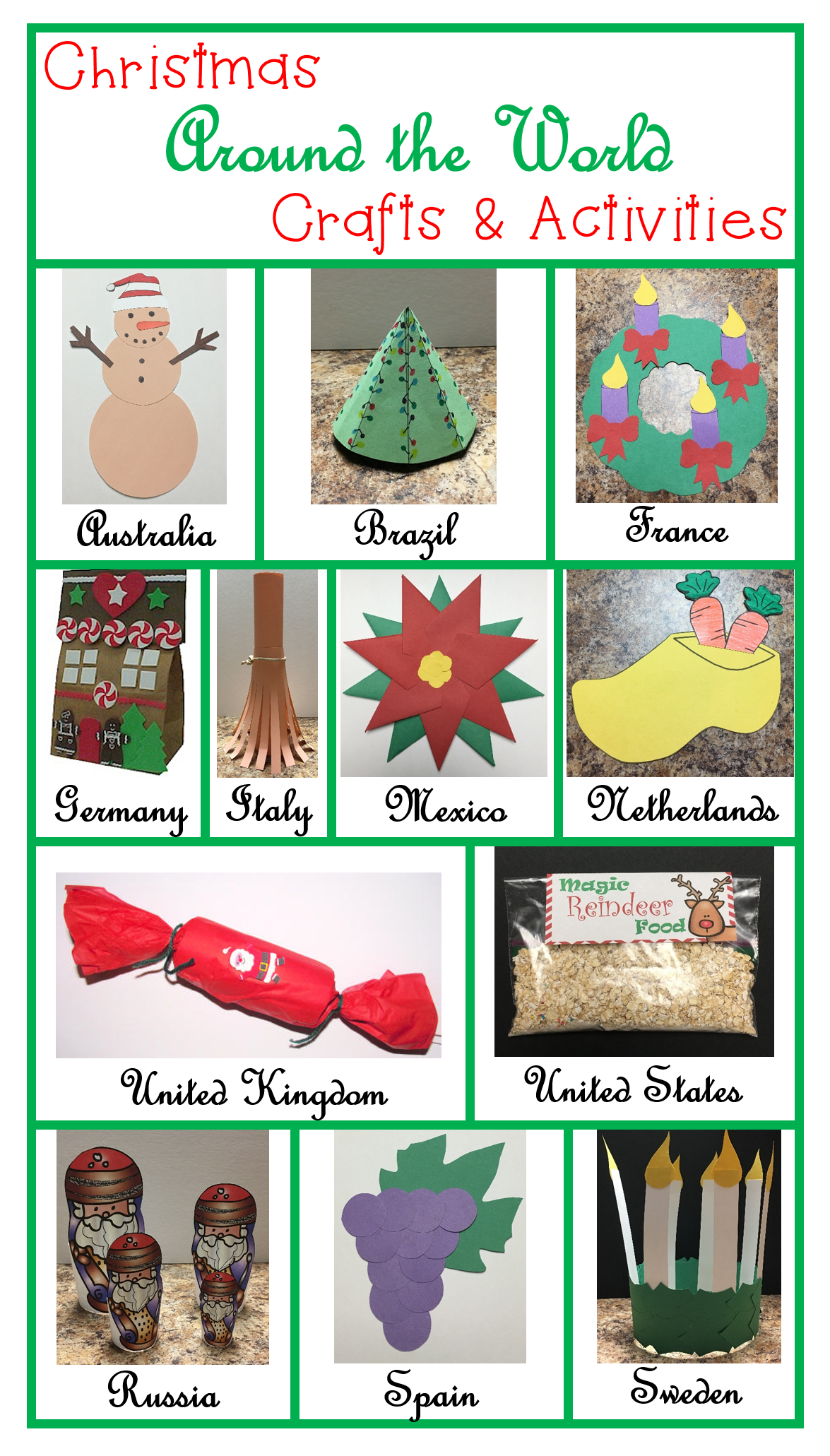 Christmas Around The World Literacy And Social Stu S