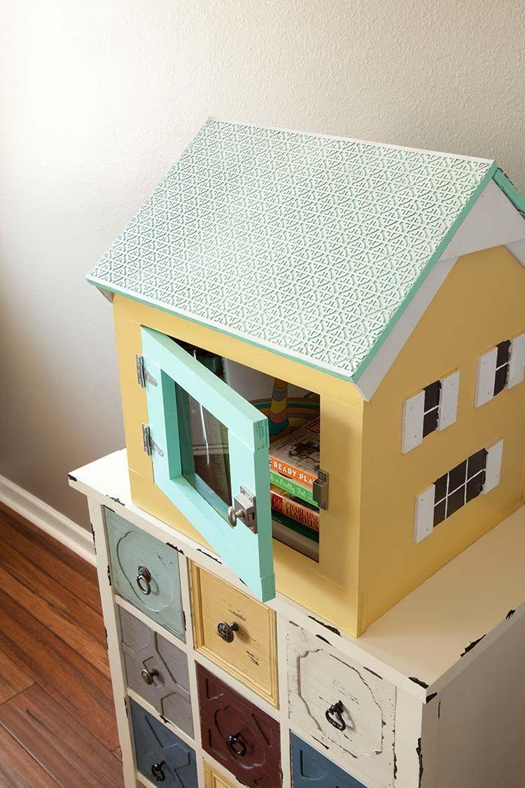 Book exchange box diy tutorial the home depot little