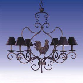 I Like This French Country Kitchen Chandelier But It Definitely Needs Diffe Lamp Shades