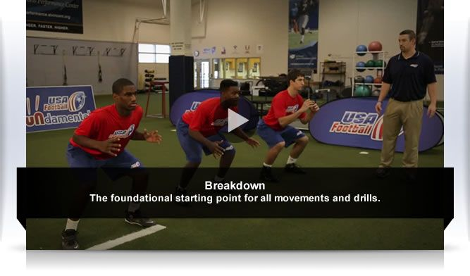 #HeadsUpFB Step 1 – Breakdown Position