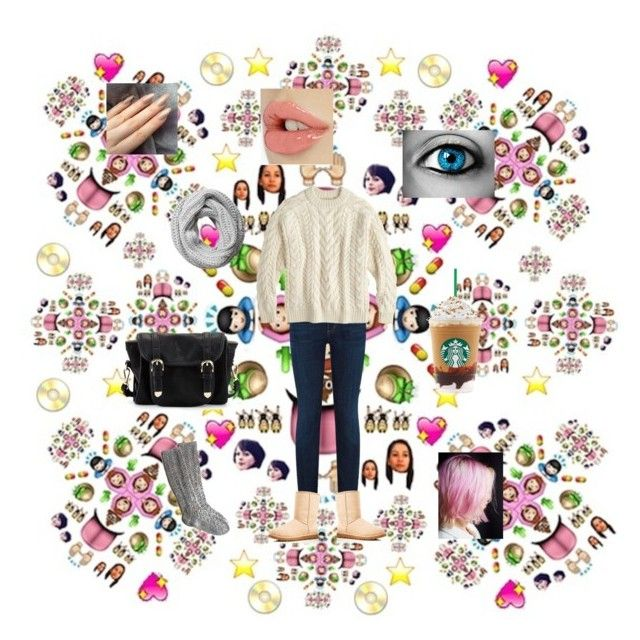 Monday by eunicehomeworks on Polyvore featuring Demylee, Citizens of Humanity, UGG Australia, Poverty Flats, Pieces and Free People