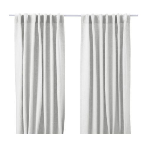 Us Furniture And Home Furnishings Ikea Linen Curtains White