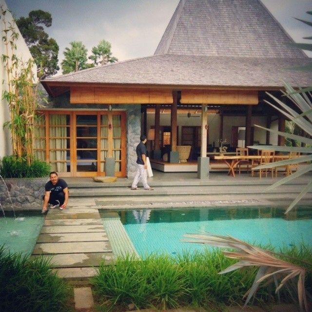 Bali Home Design Ideas: The Purist II. New Joglo Villa.