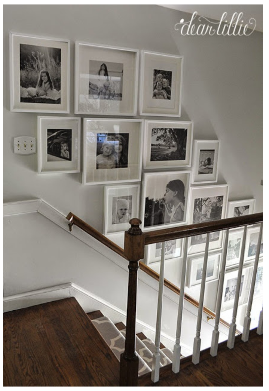 Pin De Kateh En Photography Wall Layouts Pinterest Tocador  ~ Como Decorar La Pared De Una Escalera