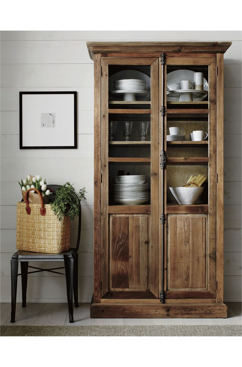 Genial Bedford Tall Cabinet | Crate And Barrel