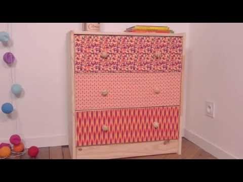 Comment customiser un meuble avec du tissu ? - Mondial Tissus
