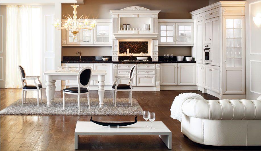 Anne Il Vero Legno Cucina Realizzata In Legno Massiccio Con Ante Dello Spessore Di 24mm Cara Best Kitchen Designs Traditional Kitchen Design Kitchen Interior