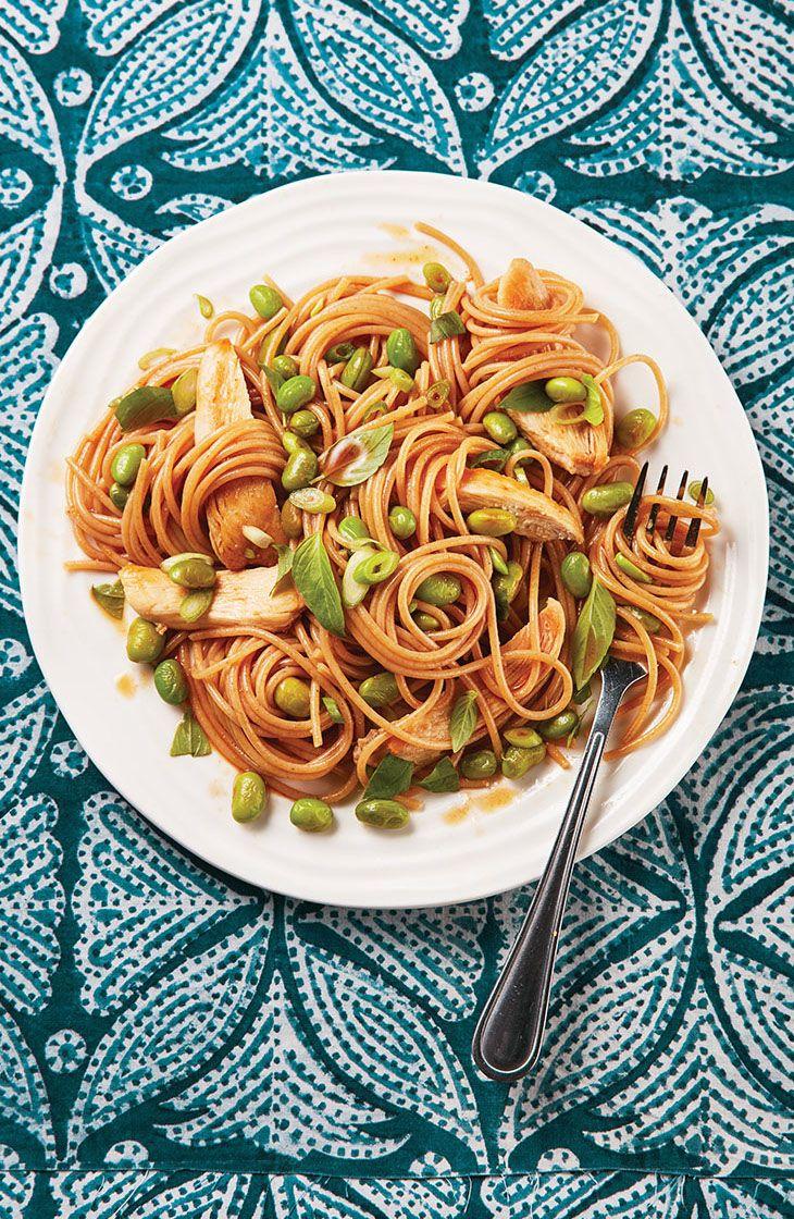 Chicken and edamame pasta recipe edamame edamame