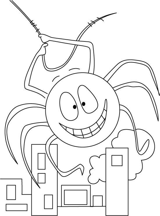 Anansi Coloring Pages di 2020