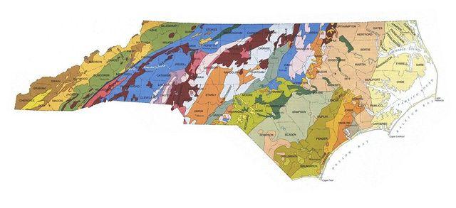 Geologic Maps of the 50 United States | Enjoyable work | Geology ...