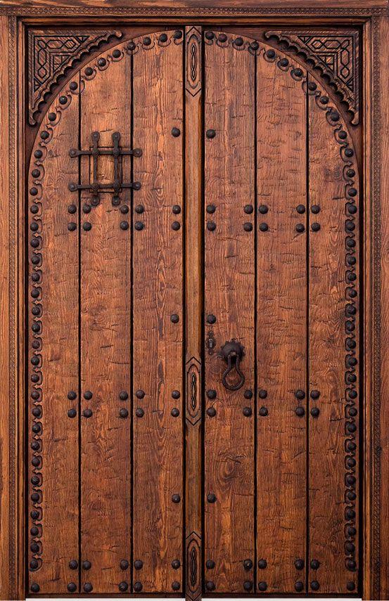 Rustic doors wooden rustic doors rustic exterior doors - Puertas rusticas de madera ...