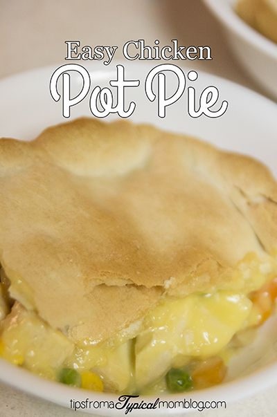 Easiest chicken pot pie for pi day chicken potpie recipes easy easiest chicken pot pie for pi day forumfinder Image collections