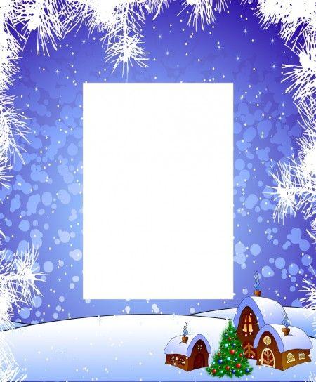 Letterina Di Natale Da Stampare Con Neve Natale Pinterest