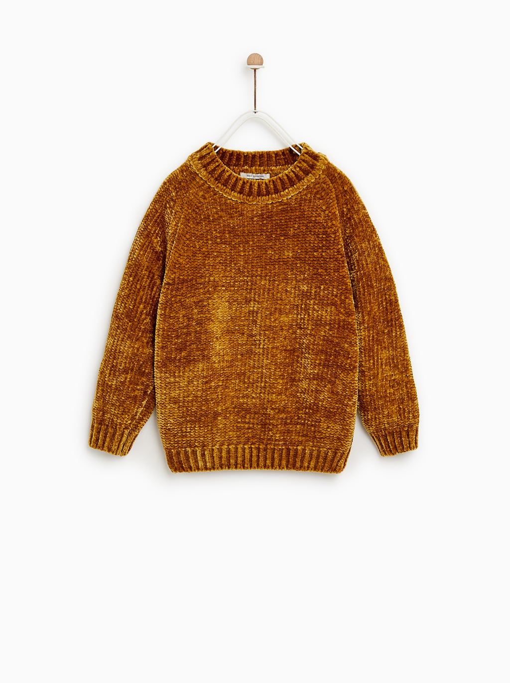 118fade90aad Image 1 of CHENILLE SWEATER from Zara