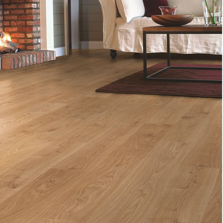 Quickstep Andante Natural White Oak Effect Laminate Flooring M² - Cheap laminate flooring packs