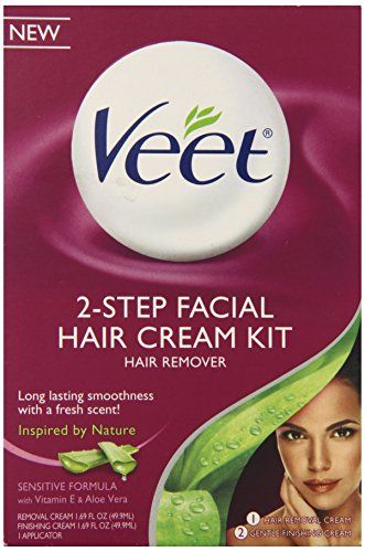 Veet Facial Hair Remover Cream Kit 3 38 Ounce Veet Http Www