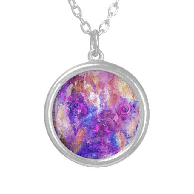 Photo of Pandora Jewelry 80% OFF!>> Bulldog Mixed Media Silver Plated Necklace #bulldog #…