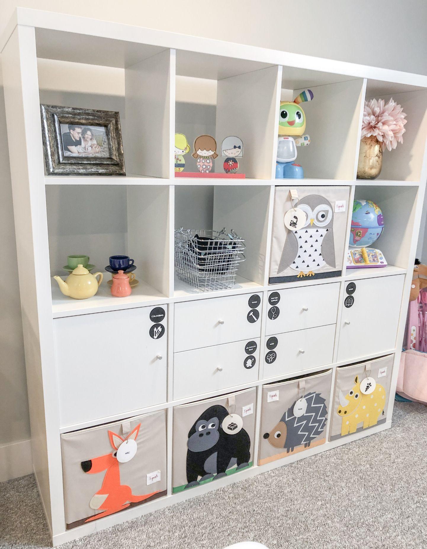 IKEA Kallax   playroom   Kinder zimmer, Kinderzimmer ideen für ...