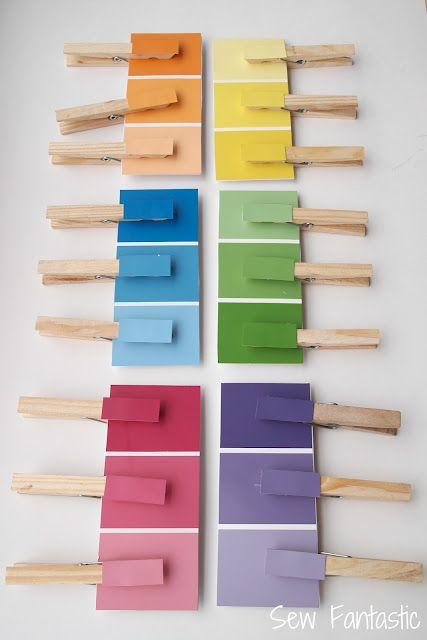 Couleur Activités Tout Petits Présco Pinterest Paint Chips