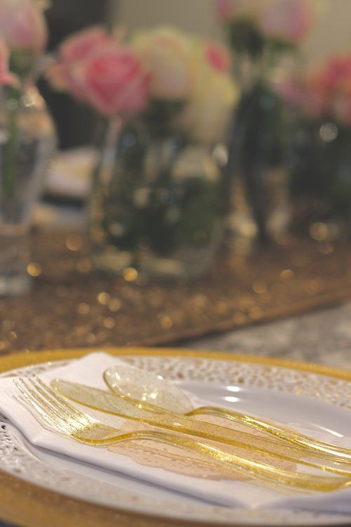 pink and gold bridal shower kelsey williams weddings events