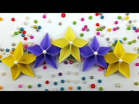 Life hacks videos easy paper flower making tutorial origami life hacks videos easy paper flower making tutorial origami flowers diy handmade mightylinksfo