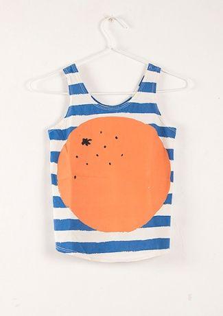 T-Shirt S/less Stripes & Orange  BOBO CHOSES 2013