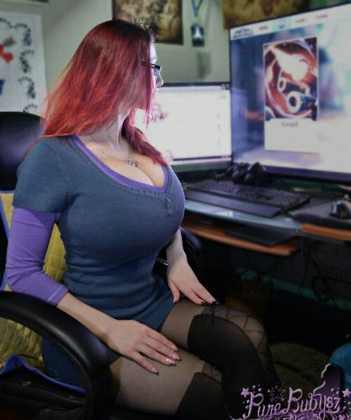 Are not big tit gamer chick suggest you come