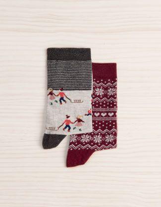 Pack Socken mit Multiprint - Socken - Accessoires - Deutschland I want christmas/winter themed socks :P