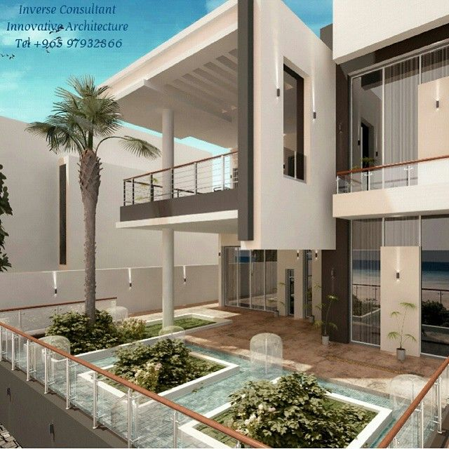 Private Chalet Concept Designed By Inverse Architecture Firm Kuwait Kuwaitcity Q8 Qatar