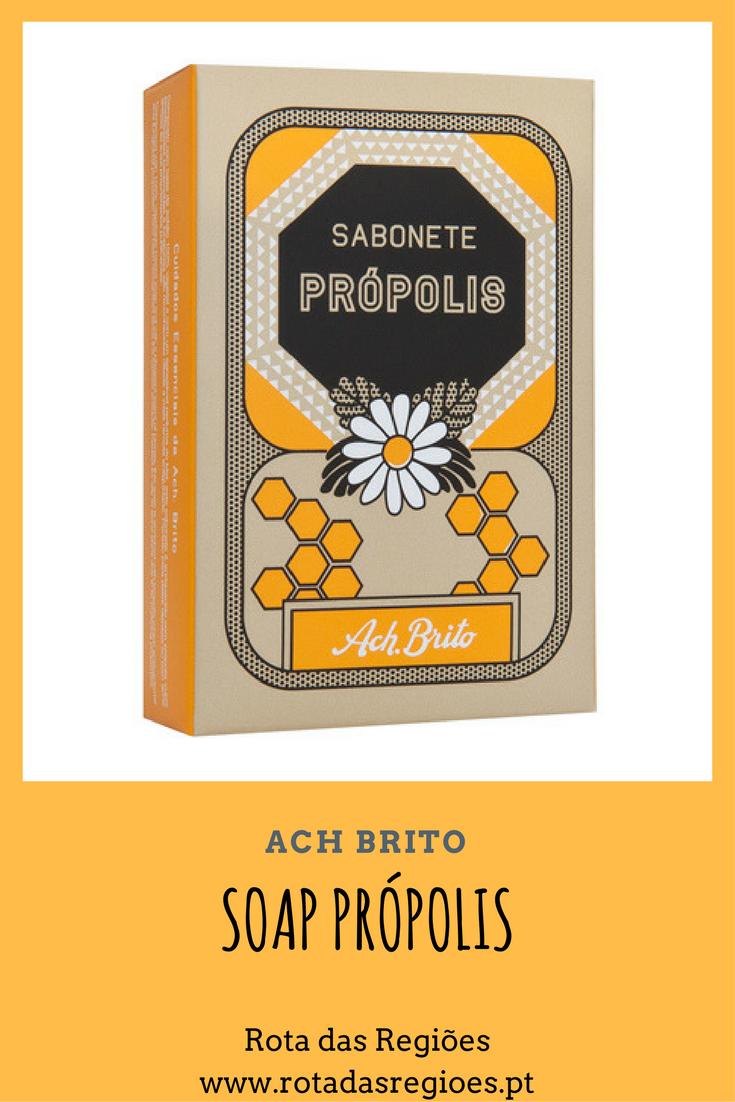 Soap própolis of the brand ach brito made in portugal sabonetes