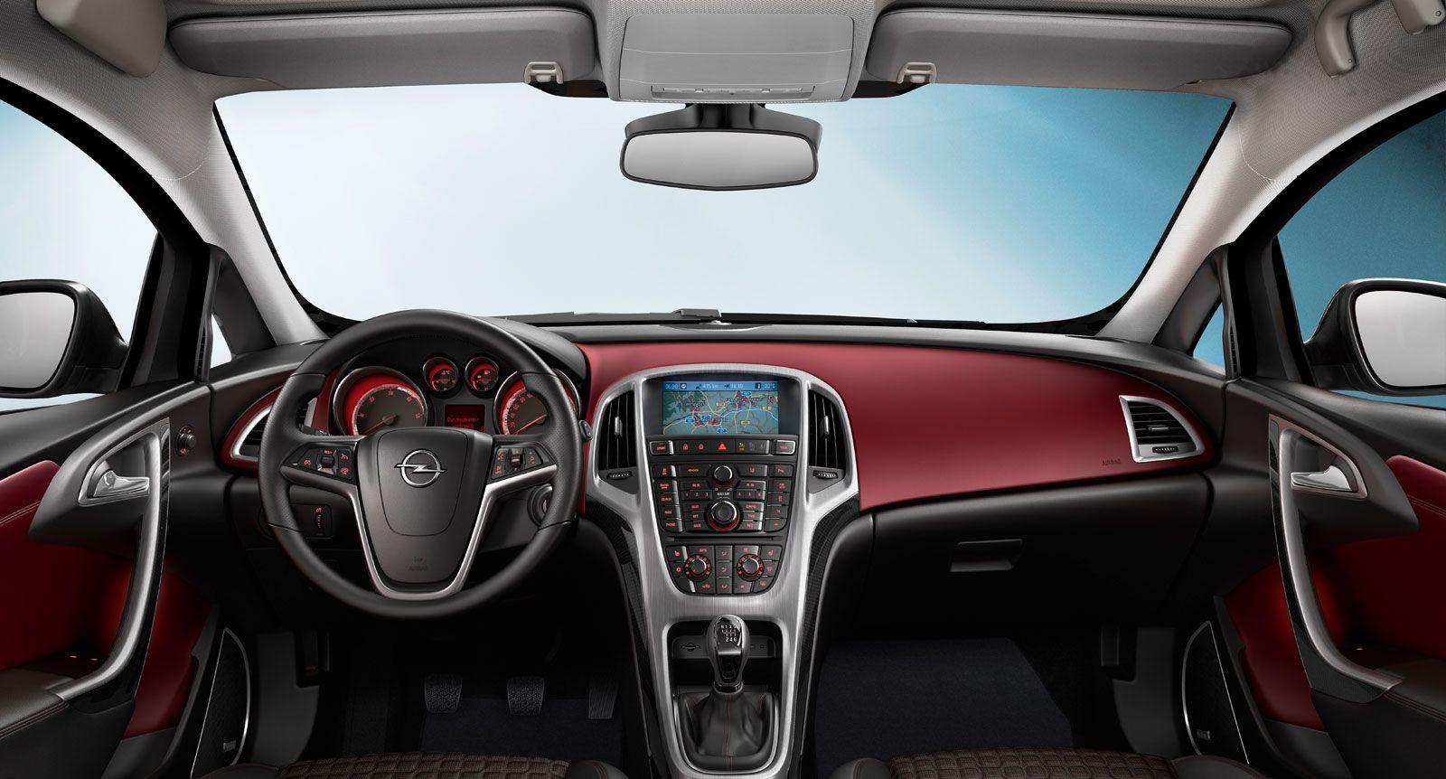 Opel Astra GTC - Interior | Opel Astra | Pinterest