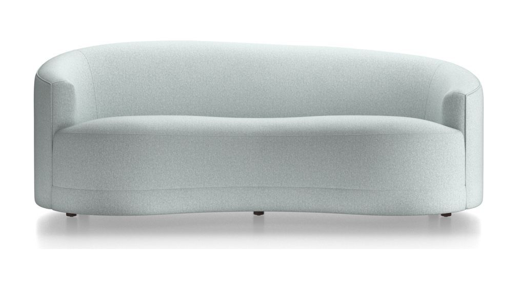 Infiniti Curve Back Sofa Crate And Barrel Sofa Styling Curved